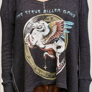 Free People Tops - Free People | Thermal Steve Miller Band